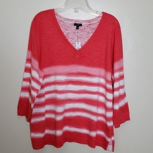 Talbots 3/4 sleeve sweater c